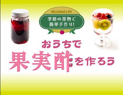 おうちで果実酒を作ろう